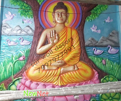 Buddha wall mural imeges