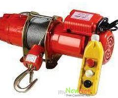 Get Durable and Reliable Electric winch in Adelaide from Active Lifting Equipment