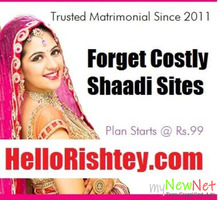 Add Your Free Matrimonial Classified on HelloRishtey.com